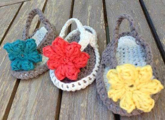 Örgü Yazlık Bebek Sandalet Modelleri - http://m-visible.com/orgu-yazlik-bebek-sandalet-modelleri.html