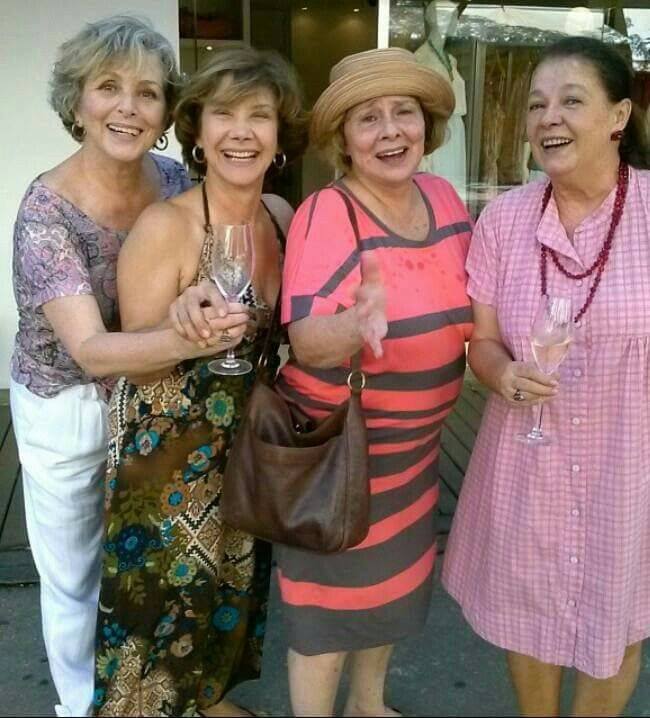 Irene Ravache, Ana Rosa, Debora Duarte e Beth Mendes