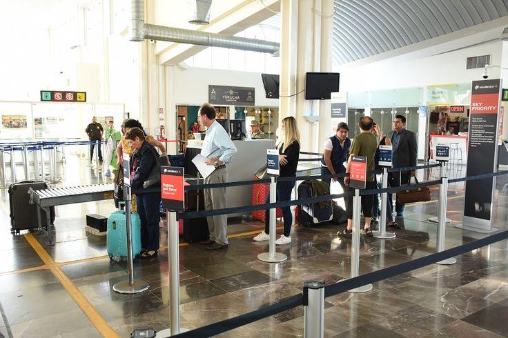 Crece flujo de viajeros en el aeropuerto local - Tribuna Campeche - Tribuna Campeche