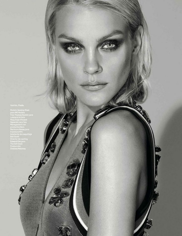 Standout eyes (Jessica Stam by Alexei Hay for L'Officiel Mexico June 2014)
