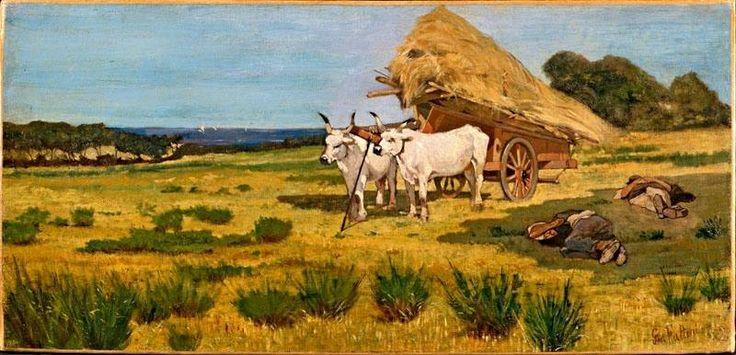 Giovanni Fattori - Riposo in Maremma, 1875 circa