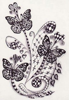 Has so many sites and tutorials for zentangles http://pinterest.com/bdeegan/zentangles-and-doodles/