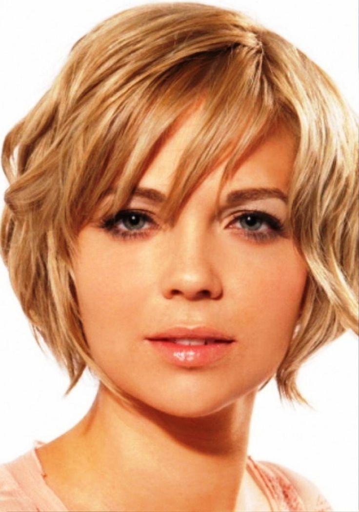 cool Как выбрать стильные стрижки для круглого лица и тонких волос? (50 фото) — Популярные прически 2017 Check more at https://dnevniq.com/strizhki-dlya-kruglogo-litsa-i-tonkih-volos-foto/