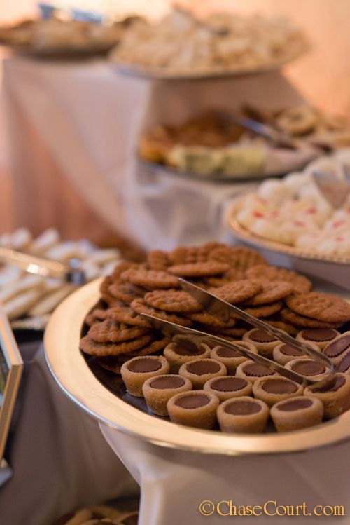 Cookie Wedding Dessert Bar Pittsburgh Table Chase Court Catering