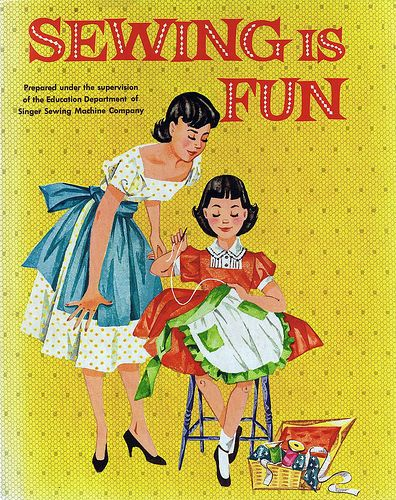 Sewing is Fun, 1958 | Copyright 1958, by the Singer Manufact… | Flickr