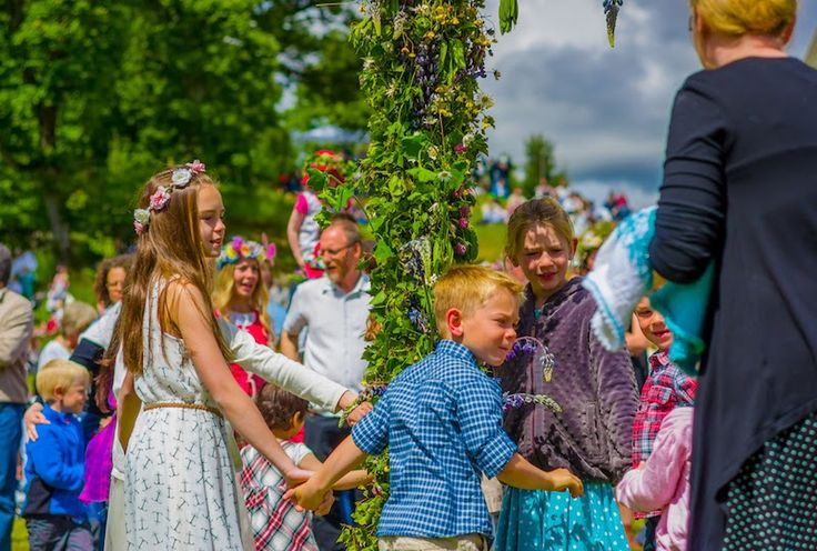Global Holidays at Home: A Very Scandinavian Midsummer    Introduce your children to holidays from around this world. This stop: Midsummer fest adds a Scandinavian flavor to your summer barbecues.
