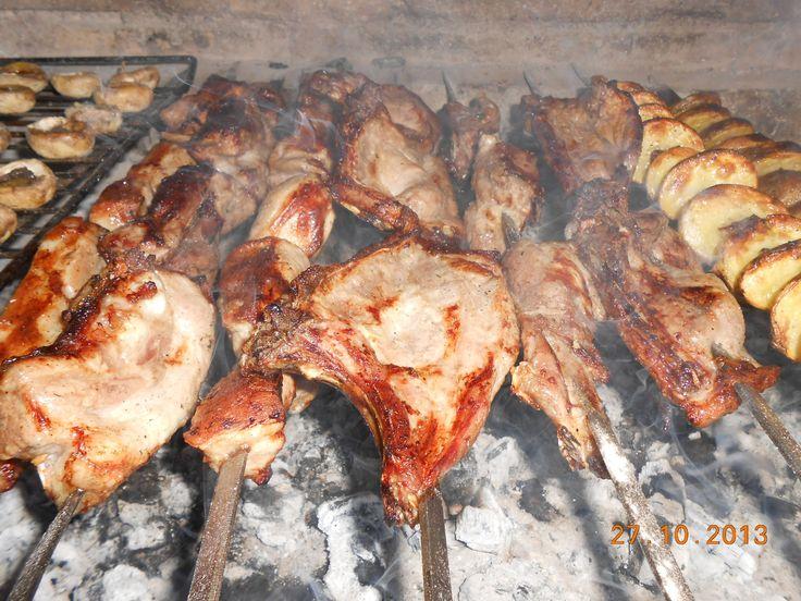 Как приготовить традиционный шашлык из свинины / How to make traditiona...