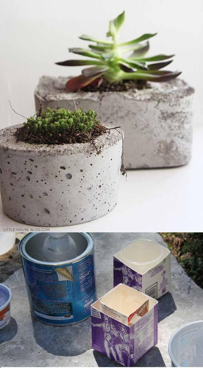 17 mejores ideas sobre maceteros reciclados en pinterest - Macetas colgantes interior ...