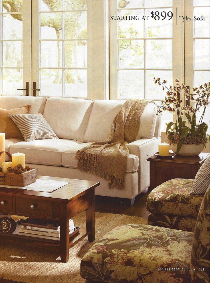 Living Room H O U S E Living Rooms Pinterest Pottery Pottery Barn An
