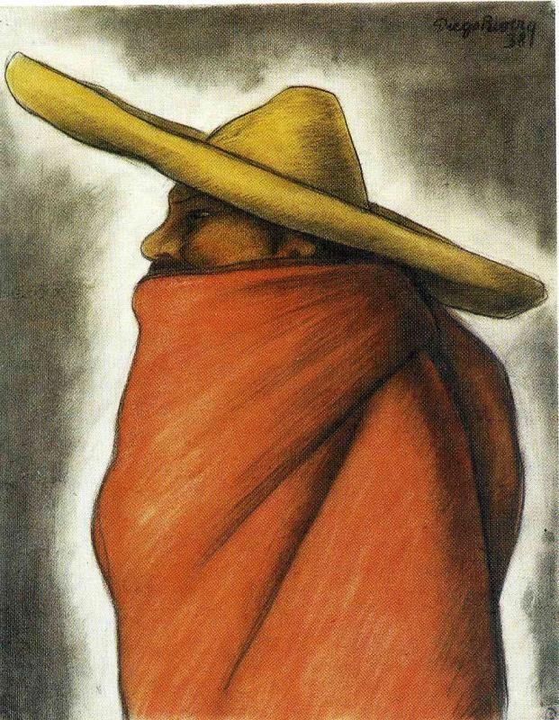 Диего Ривера. Шляпа