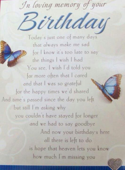Happy Birthday in Heaven Mom ... I Love and Miss You So Very Much!!