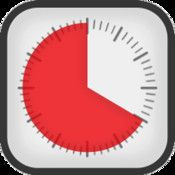 Time Timer: The Time Timer displays time as a red disk that quietly gets smaller as time elapses. ($4.99)