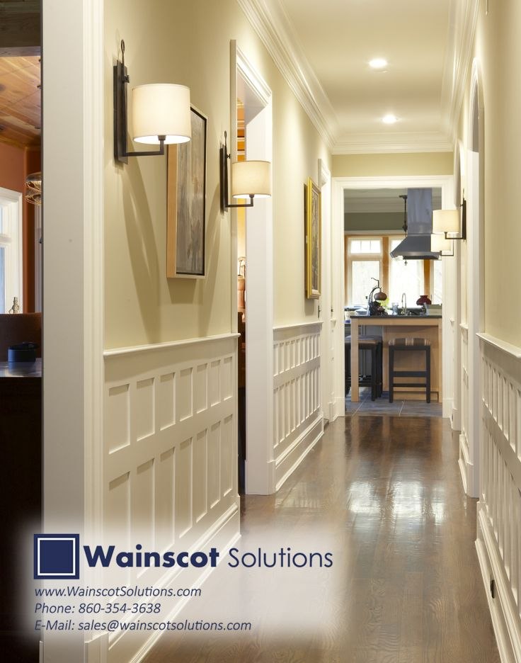 8 best hallway column designs by wainscot solutions for Contemporary moulding ideas