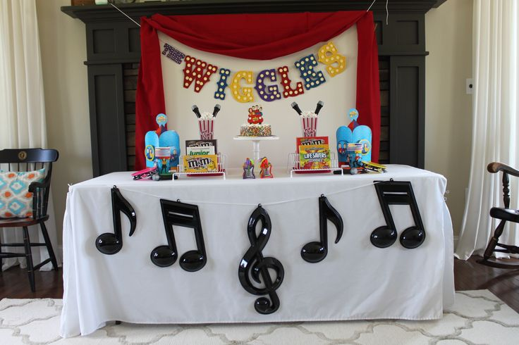The world's biggest preschool band, The Wiggles, is here to help make your little one's next birthday the most memorable and rockin' and rollin' yet! You can further customize the party to match the birthday kid's personality with a Wiggles Personalized Photo Banner that is sure to bring all other party decorations to life. (Credit: Jenny)
