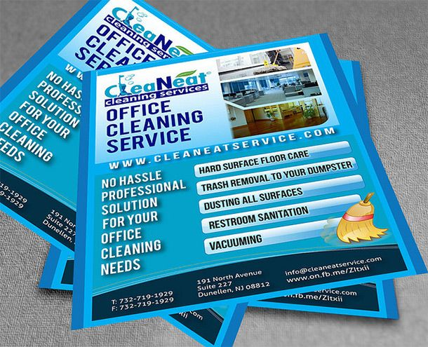8 best cleaning flyers images on pinterest cleaning for Commercial cleaning brochure templates