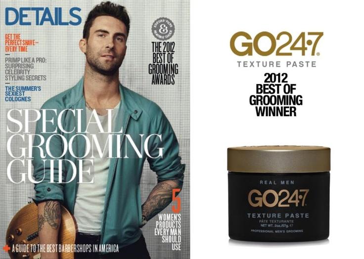 "GO247 Texture Paste- Winner of Details Magazine ""Best of Grooming"""
