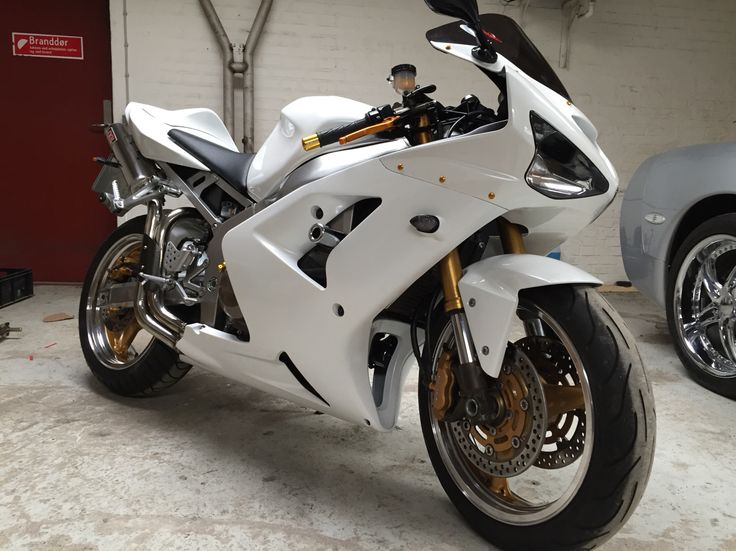 My Kawasaki zx6r ready for spring