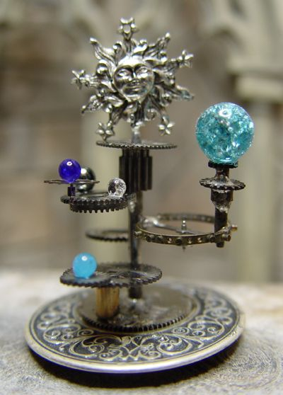 another orrery- the gears on this one are awesome