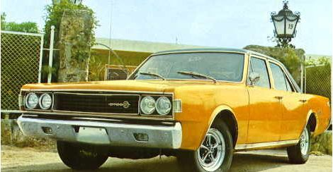 Dodge Dart 3700, made in Spain by Barreiros