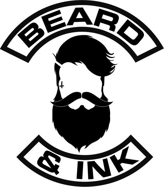Baby Pink LOVE Bearded ❤️ Logo Tee / Beard And Ink