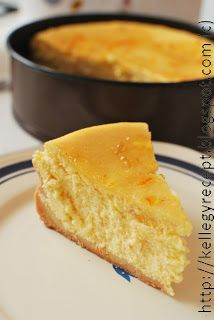 Mandy kertje és konyhája: Narancsos sajttorta
