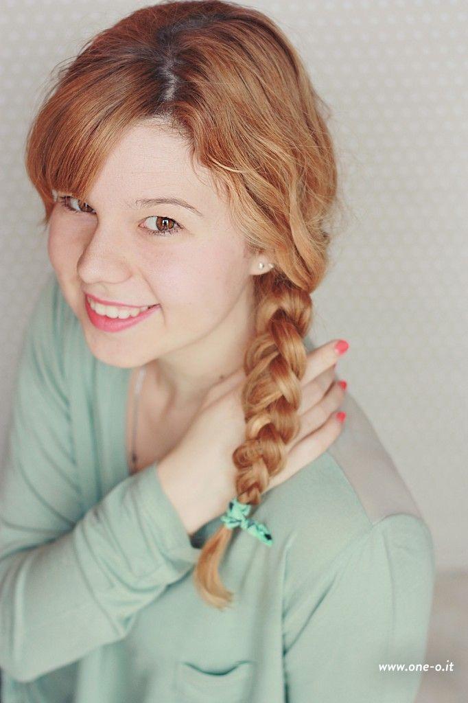 3 #quick and #easy #braided #hairstyles | via www.one-o.it | #braid #braids #diy #updo