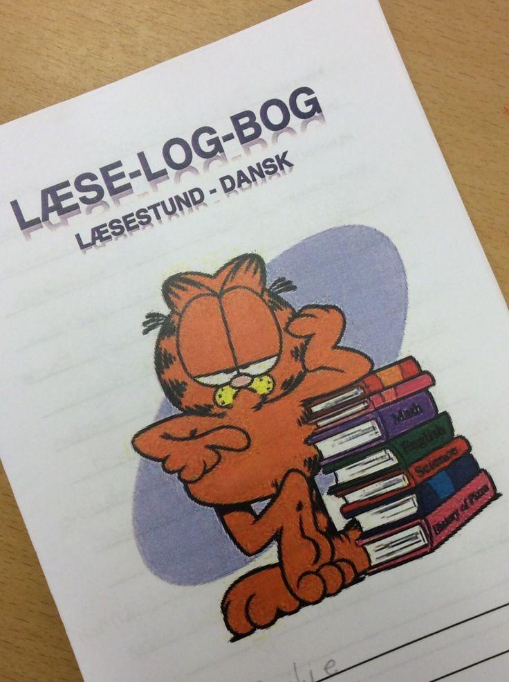 Forsiden på læselogbogen...