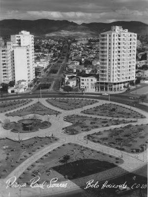 PRAÇA RAUL SOARES BH 1953 ANOS DOURADOS: IMAGENS & FATOS