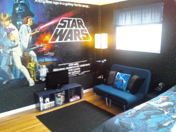 Cute idea for a little boys room