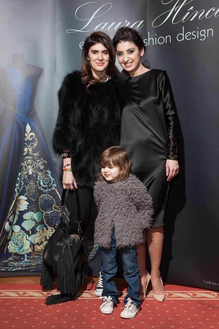 Laura Hîncu painted dress - Laura Hîncu & IMALINZ & Ingrid Gherghe