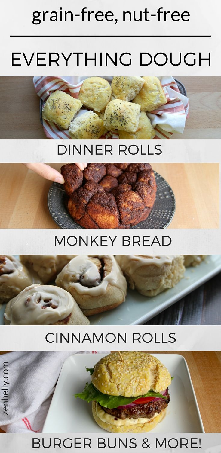 #grainfree, #nutfree everything dough from zenbelly  #thanksgiving #paleo