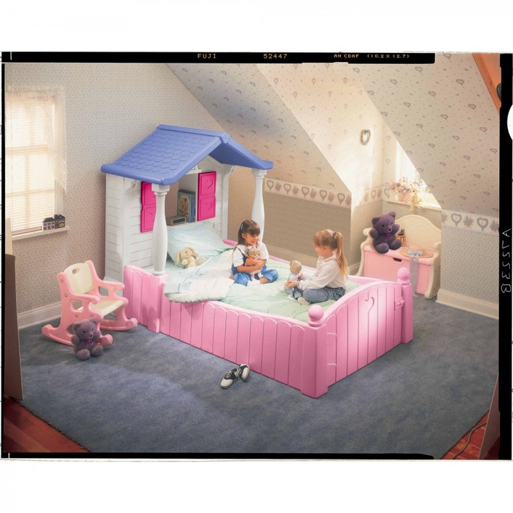 Little Tikes Juvenile Furniture Storybook Cottage Twin Bed
