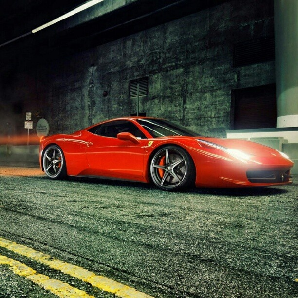 Ferrari in motion #speed