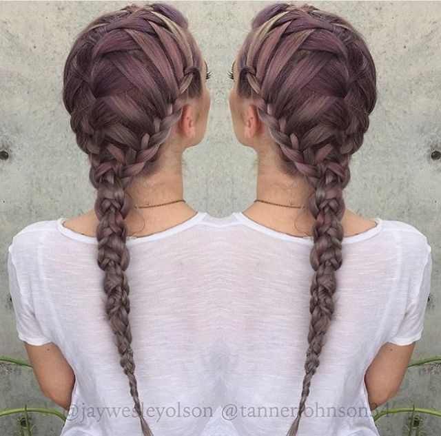 25+ Best Ideas About Hair Down Braid On Pinterest