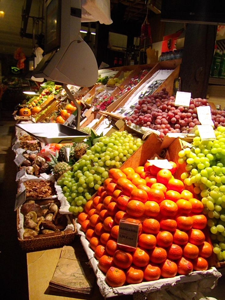 Love the Fresh Food markets in Spain.