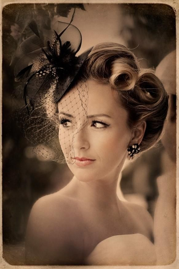 hair up styles with fascinators best 25 vintage bridal hairstyles ideas on 7061