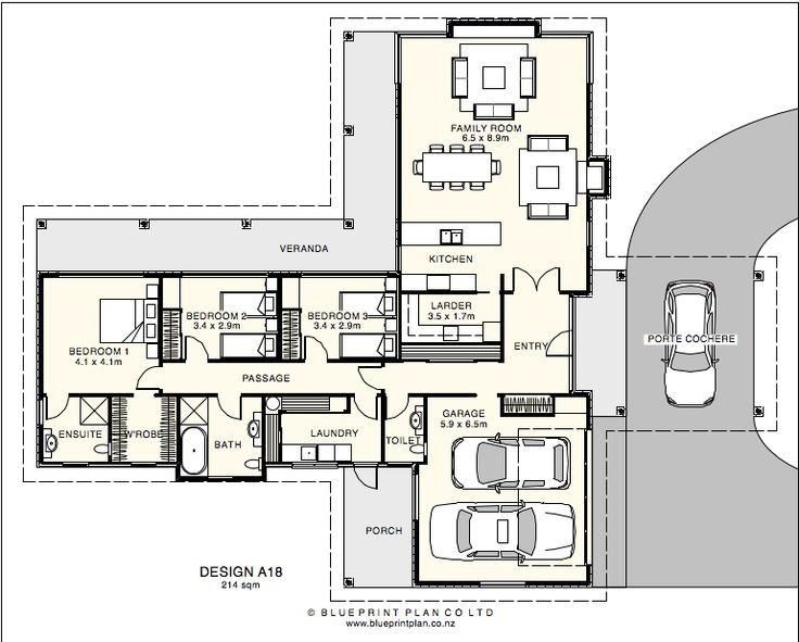 9m Wide House Designs House Plans House Design House Floor Plans