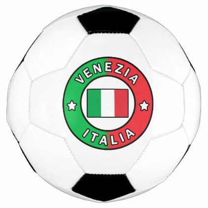 Venezia Italia Soccer Ball - home gifts ideas decor special unique custom individual customized individualized