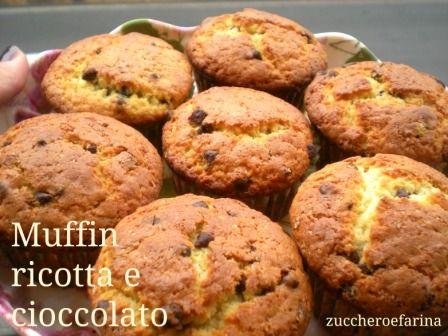 muffin ricotta e cioccolato 5