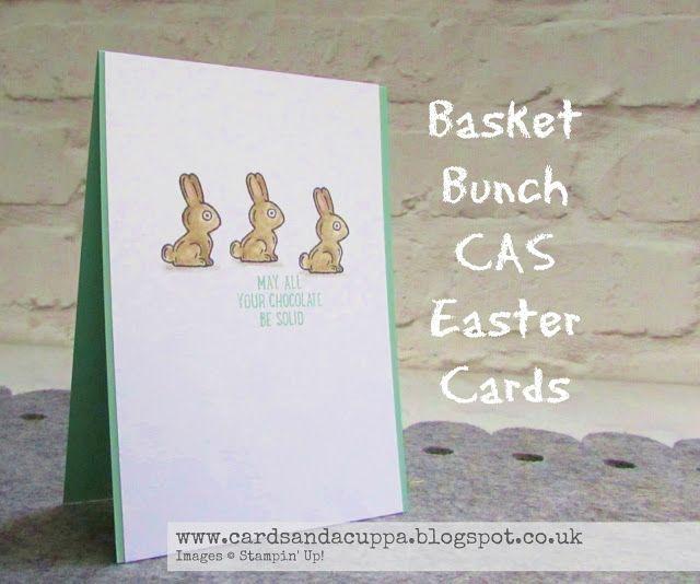 Sarah-Jane Rae cardsandacuppa: Stampin' Up! UK Order Online 24/7: Day Two of Basket Bunch CAS Card Weekend