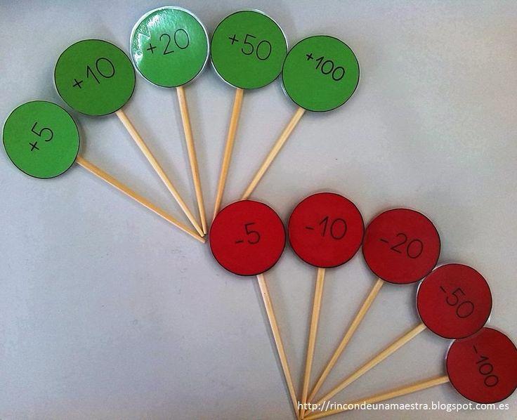 Hoy os voy a enseñar cómo trabajo oralmente las series en clase. Partimos de un número que escribo en la pizarra; como por ejemplo, el 200. ...