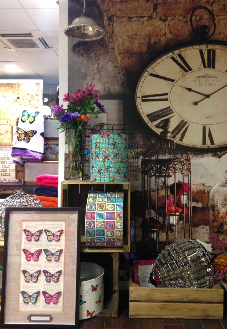 Bhs Wall Lampshades : BHS HOME, SS14, Curiosity, Clock, Wall art, Lighting, Light shades, Vintage, Crates, Spring ...