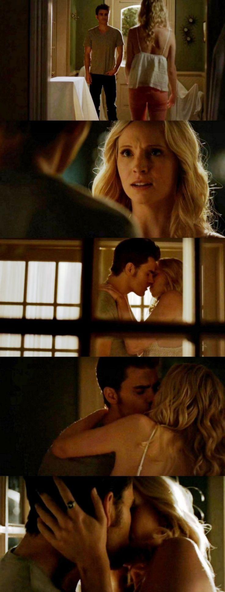 The Vampire Diaries TVD 7X01 - Steroline