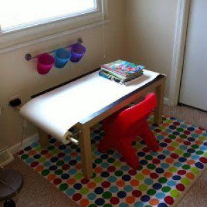 Tavolino da disegno per bambini