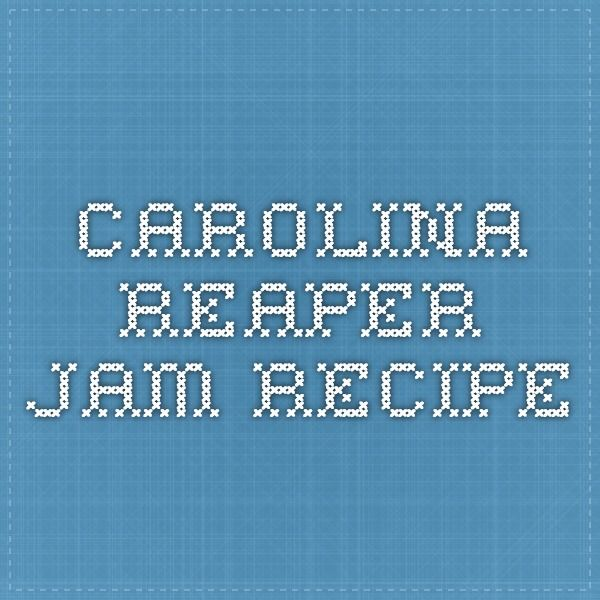 Carolina Reaper Jam Recipe