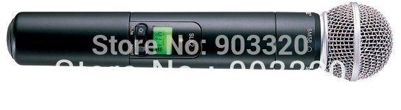 46.00$  Buy here - http://aligk5.shopchina.info/go.php?t=903838562 - High Quality UHF SLX24SM58 SLX24 Professional Handheld Wireless Microphone Sound System 800-820Mhz Receiver  #magazineonlinebeautiful