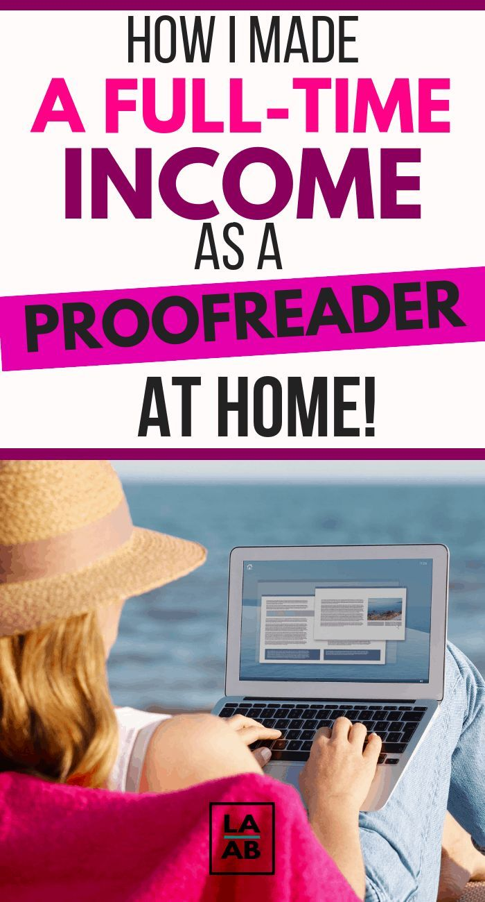 Make Money At Home: Become a Freelance Proofreader