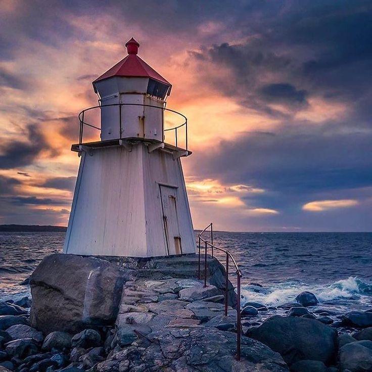 Brattestø Lighthouse, Norway