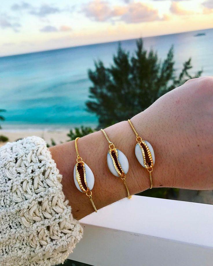 "2,112 Likes, 26 Comments - ALV Jewels (@alvjewels) on Instagram: "" in our White Shell Bracelet online now-- ALVjewels.com"""