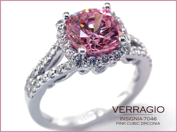 perfect for the valentine's day; insignia-7046 with a pink cz.